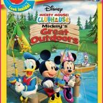 Mickey's Great Outdoors on DVD today!