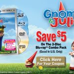 Gnomeo and Juliet on DVD and Blu Ray TODAY!!  Review and Coupon!