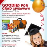 Goodies for Grads Giveaway from Command Brand and Filtrete Water!