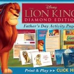 Celebrate Father's Day w/ Mufasa & Simba!