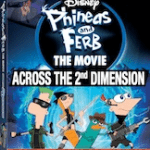 Phineas & Ferb The Movie on DVD 8/23!