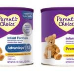 Parents Choice Infant Formula Review and Giveaway