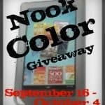 Nook Color #Giveaway with Easy Rafflecopter Entry!! #sweepstakes #freebie #win