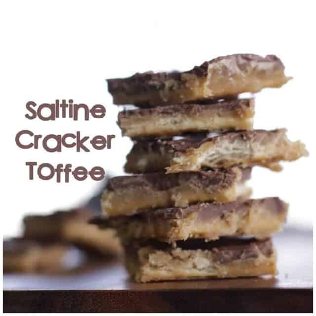 Easy Saltine Cracker Toffee Recipe
