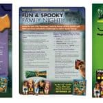 SPOOKY BUDDIES Dog Biscuit Recipe, Family Night Viewing Party Tips, and Activity Sheet
