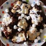 Oooey Gooey Marshmallow Caramel Molten Milky Way Brownies