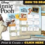 Learn how to Draw Winnie the Pooh and Tigger, Too!