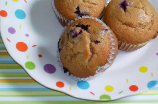 Yummy Blueberry Cream Muffin Recipe