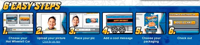 Personalized Hot Wheels Car