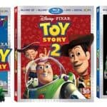 TOY STORY, TOY STORY 2, and TOY STORY 3 on Blu-ray 3D 11/1!