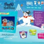 Check out this fun Frosty The Snowman Website & Giveaway