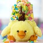 1800baskets.com Cute Chick Plush Easter Gift Basket