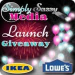 $100 Lowes Gift Card  & $100 Ikea Gift Card Giveaway