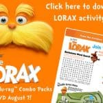 Dr. Seuss' The Lorax on Blu-ray Combo Pack now!!