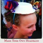 Easy to Make Tea Party Hats **Kids Craft**
