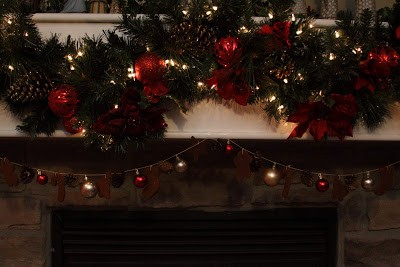 Christmas Cinnamon Ornament Garland