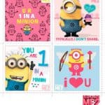 Free Printable Valentines from Universal Pictures' DESPICABLE ME 2