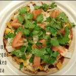 Skinny Barbeque Chicken Pizza Recipe for 1