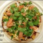Skinny Barbeque Chicken Pizza Recipe for 1