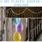 Easy DIY Plastic Easter Egg Garland