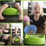 Bumbo Booster Seat Review AND Giveaway!