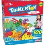 Tinkertoy 100 piece Essentials building set Review and Giveaway