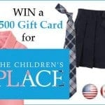 Win a $500 Gift Card for The Children's Place