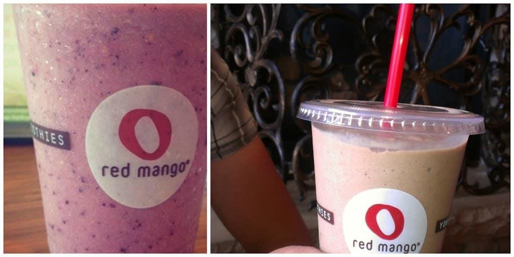 Red Mango, Frozen Yogurt and Smoothies