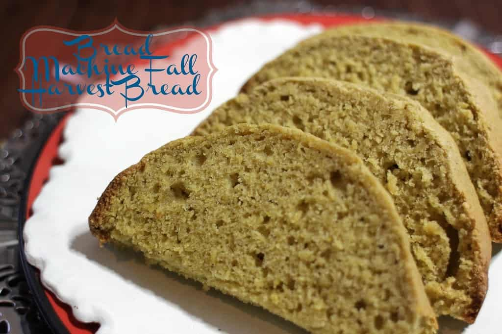 Fall Harvest Bread Recipe
