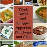 Tried, Tested and Blogger Approved Fall Soups and Chili's