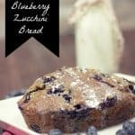 Lemon Glazed Blueberry Zucchini Bread