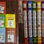 #1 Best selling series Diary of a Wimpy Kid by Jeff Kinney