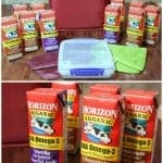 Back to School with Horizon Organic Milk Giveaway!