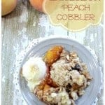 Perfect Blueberry Peach Cobbler