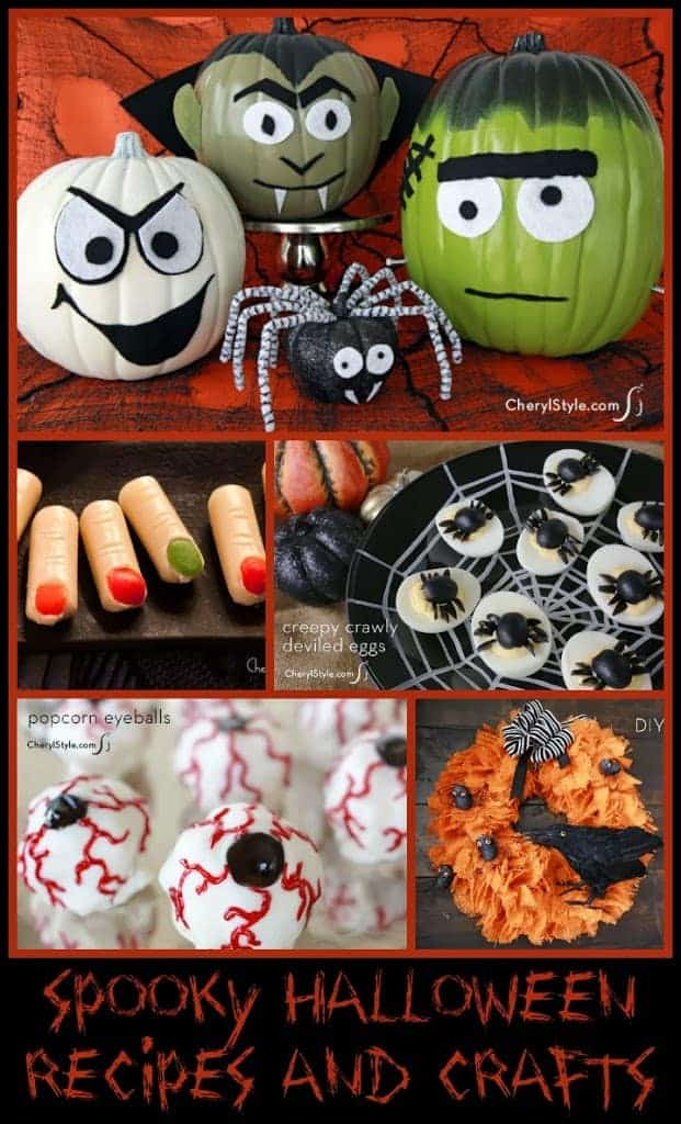 spooky halloween recipes and crafts a sparkle of genius