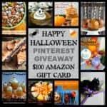 Happy Halloween Pinterest $100 Amazon Gift Card Giveaway