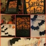 How to Make a Spooky Halloween Mantel and other Halloween Crafts!
