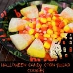 Halloween Candy Corn Sugar Cookie Recipe