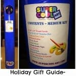 Holiday Gift Guide- Super Cool Art Kit Review and Giveaway!