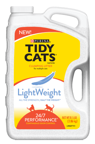 Tidy cats lightweight litter vs regular