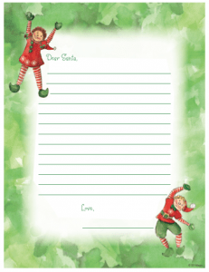 FREE Letter from Santa Claus  Printable Free Letters