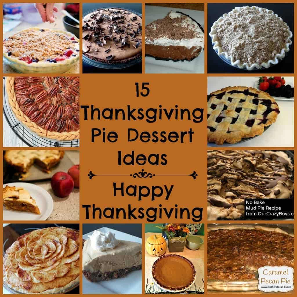 15 Delicious Thanksgiving Pie Recipes