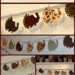 Make Your Own Thanksgiving Turkey Banner