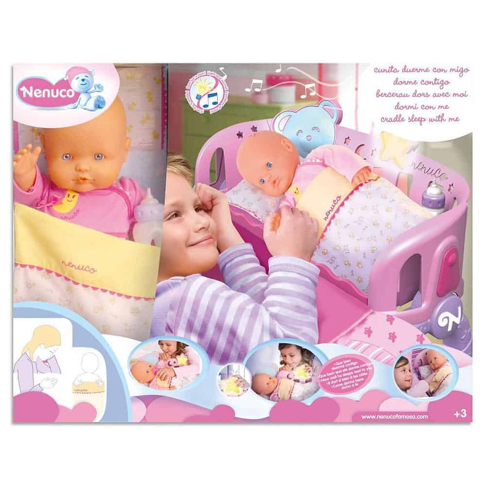 Holiday Gift Guide- Nenuco Sleep With Me Baby Doll & Cradle