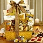 1-800-BASKETS.COM Gilded Splendor Gift Basket Review
