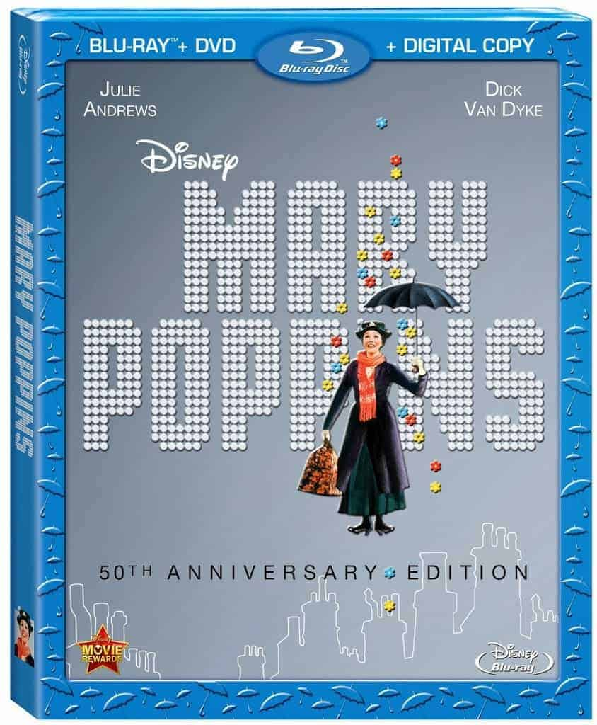 Holiday Gift Guide- Mary Poppins 50th Anniversary Edition Blu-ray Review