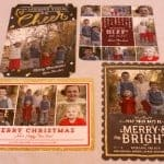 Tiny Prints Holiday Cards #TinyPrintsCheer #sponsored Review and GIVEAWAY!