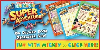 Holiday Gift Guide: MICKEY MOUSE CLUBHOUSE: SUPER ADVENTURE DVD