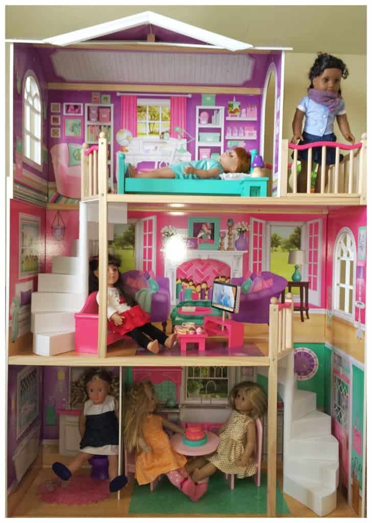 Pictures of an american girl doll house
