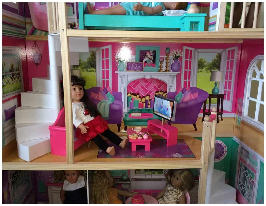Kidkraft American Girl Doll House For 18 Inch Dolls And Accessories